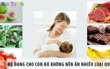 Các thực phẩm lợi sữa không làm mẹ bé tăng cân