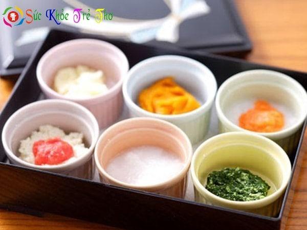 Lợi ích của ăn dặm kiểu Nhật có nhiều món cho bé chọn lựa