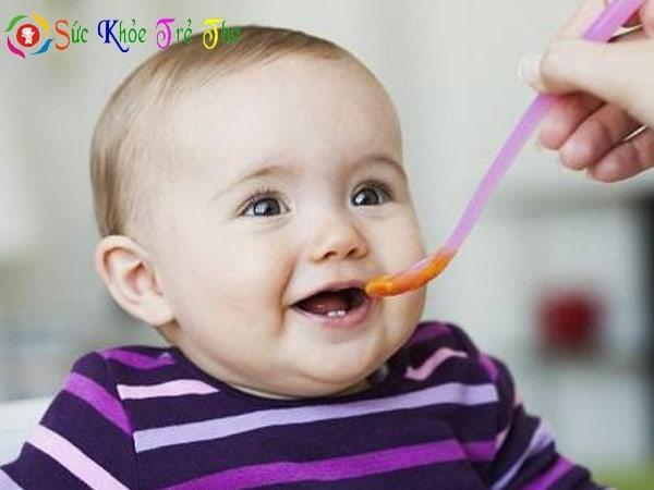 Thực đơn ăn dặm cho bé 6 tháng tuổi