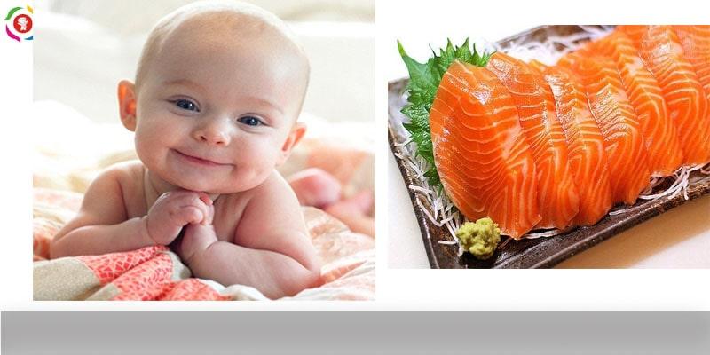 Cá hồi có rất nhiều lợi ích với sức khỏe của trẻ