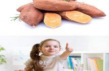 tác dụng của khoai lang đối với trẻ em