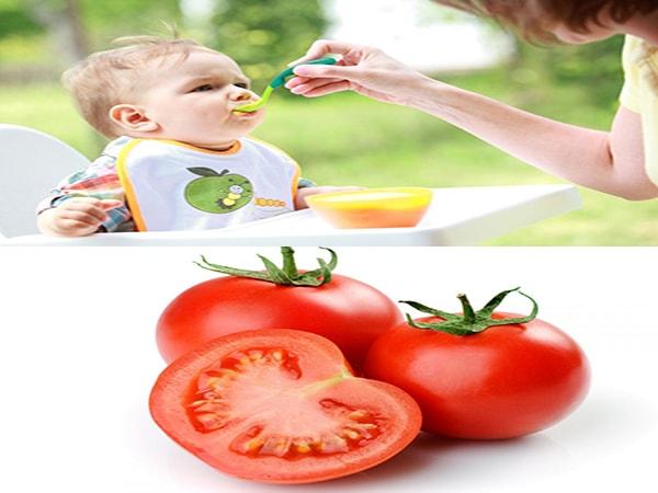 Trẻ mấy tháng ăn được cà chua 1