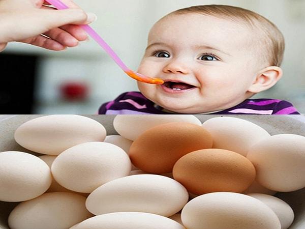 Trẻ mấy tháng ăn được trứng gà 1