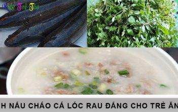 cách nấu cháo cá lóc rau đắng