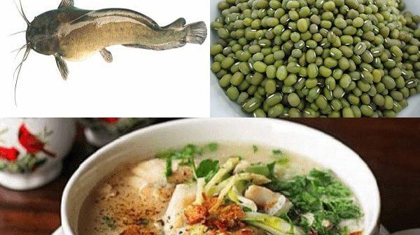 cách nấu cháo cá trê đậu xanh