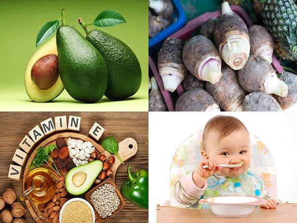 thực phẩm tốt cho trẻ ăn dặm 2