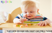 Thực đơn ăn dặm kiểu Nhật cho trẻ 4 tháng tuổi