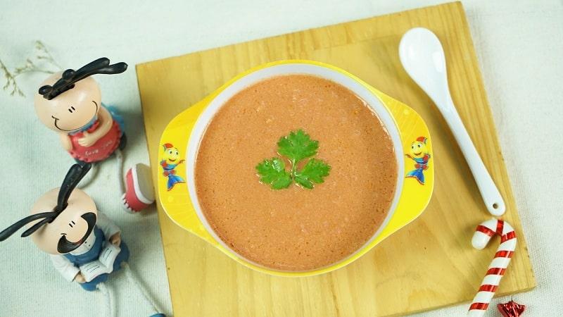 Cách nấu cháo trứng cà chua rất đơn giản