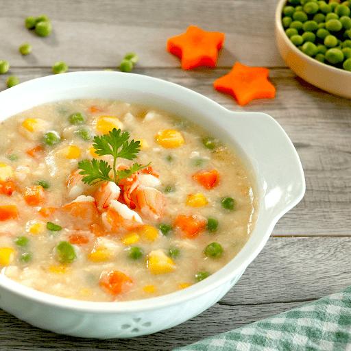 Món súp bánh mỳ rau củ