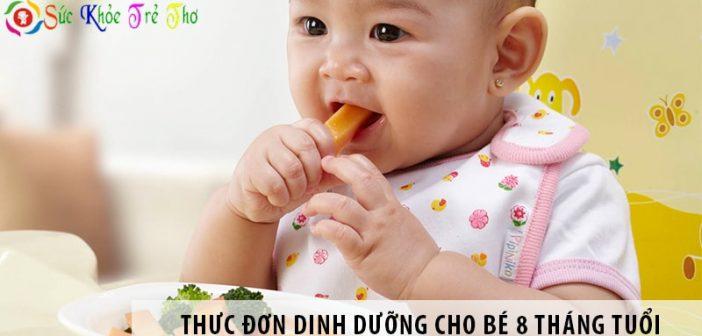 Trẻ 8 tháng tuổi nên ăn gì? Thực đơn dinh dưỡng cho bé 8 tháng