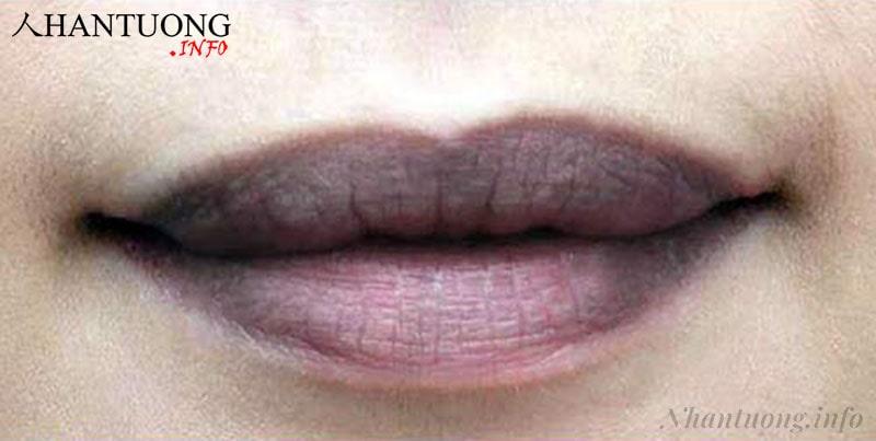 Xem tướng phụ nữ môi thâm