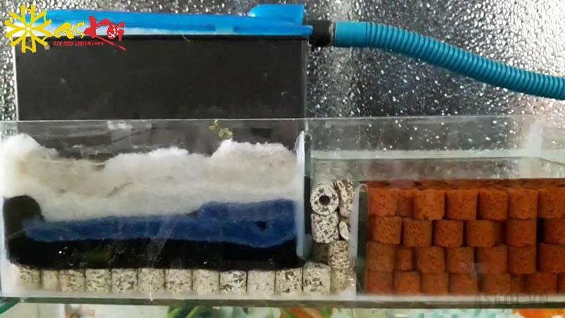 Bộ phận đẩy trong hệ lọc hồ cá koi