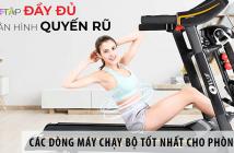 Các dòng máy chạy bộ tốt nhất cho phòng tập gym