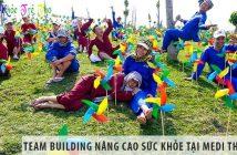 Team building nâng cao sức khỏe tại MEDI Thiên Sơn